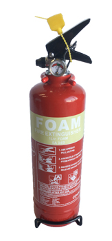 1.0 LTR AFFF FOAM FIRE EXTINGUISHER