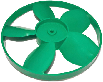 5 BLADED PLASTIC FAN