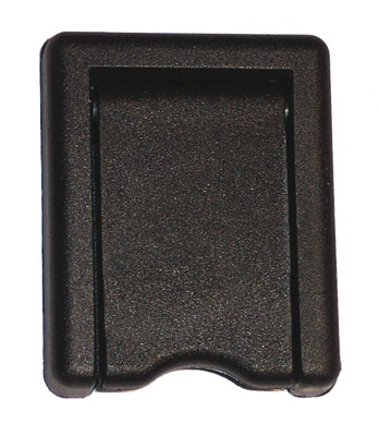 BLACK PLASTIC ESCUTCHEON