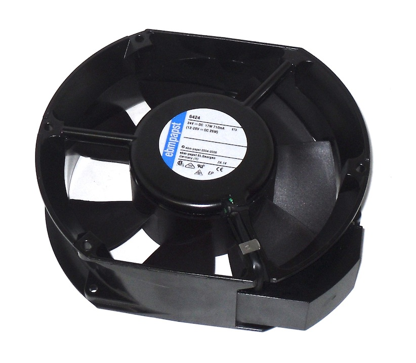 6424 EBM Axial Fan 24v 6400 Series